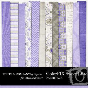 Colorfix sweet lilac pp medium