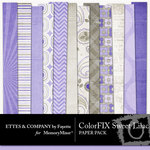 ColorFIX Sweet Lilac Paper Pack-$3.99 (Fayette Designs)