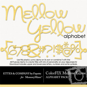 Colorfix mellow yellow alpha medium