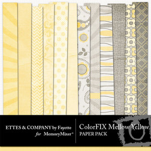 Colorfix mellow yellow pp medium