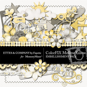 Colorfix mellow yellow emb medium
