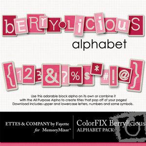 Colorfix berrylicious alpha medium