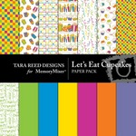 Lets Eat Cupcakes Paper Pack-$2.99 (Tara Reed Designs)
