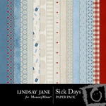 Sick Days Paper Pack-$3.49 (Lindsay Jane)