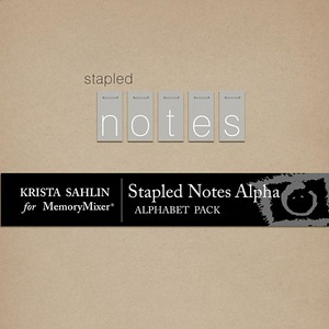Stapled notes alpha medium