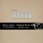 Stapled Notes Alphabet Pack-$2.49 (Krista Sahlin)