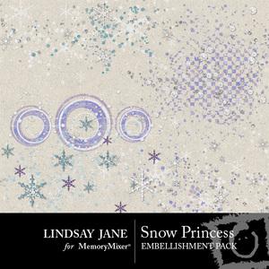 Snow princess scatterz medium