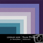 Snow Princess Embossed Paper Pack-$1.99 (Lindsay Jane)