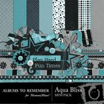 Aqua Bliss Mini Pack-$3.99 (Albums to Remember)