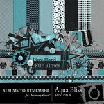 Aqua Bliss Mini Pack-$3.99 (Albums to Remember)