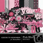 Pink Bliss Mini Pack-$3.99 (Albums to Remember)