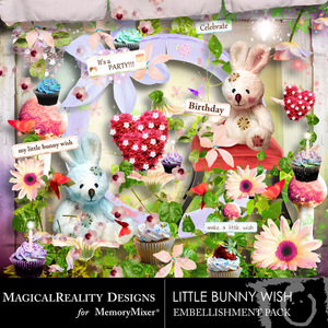 Little bunny wish emb medium