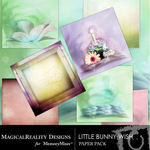 Little Bunny Wish Paper Pack-$3.99 (MagicalReality Designs)