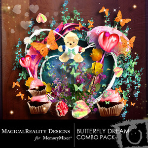 Butterfly dream combo pack medium