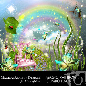 Magic rainbow combo pack medium
