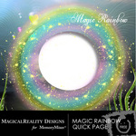 Magic Rainbow Free Quick Page-$0.00 (MagicalReality Designs)