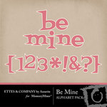 Be Mine Alphabet Pack Ettes by Annette-$0.99 (Ettes and Company by Annette)