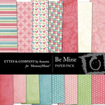 Be Mine Paper Pack Ettes by Annette-$3.49 (Ettes and Company by Annette)