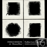 Endless Love Edge Effects Embellishment Pack-$2.49 (Indigo Designs)