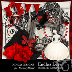 Endless Love Embellishment Pack-$3.49 (Indigo Designs)