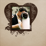 Love me frames brown 1 small
