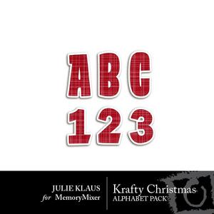 Krafty christmas alpha medium
