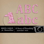 A Story of Friendship Alphabet Pack-$1.99 (Krista Sahlin)
