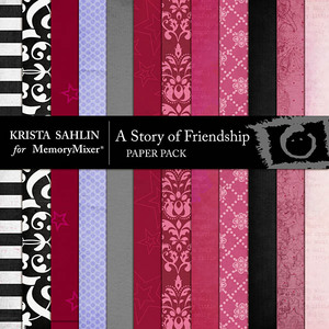 A story of friendship pp medium