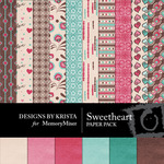Sweetheart DBK Paper Pack-$3.49 (Designs by Krista)