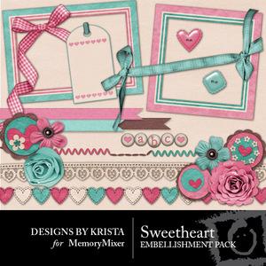 Sweetheart dbk emb medium