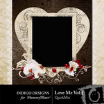 Love Me Volume 1 QuickMix-$3.49 (Indigo Designs)