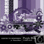Purple Bliss Combo Pack-$4.49 (Albums to Remember)