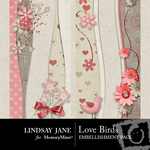 Love Birds Border Pack-$1.99 (Lindsay Jane)