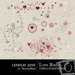 Love Birds Scatterz Pack-$1.19 (Lindsay Jane)