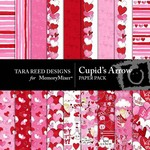 Cupids Arrow Paper Pack-$3.49 (Tara Reed Designs)