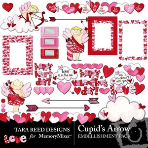 Cupids arrow emb medium