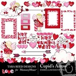 Cupids Arrow Embellishment Pack-$2.49 (Tara Reed Designs)