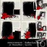 Endless Love QuickMix-$2.39 (Indigo Designs)