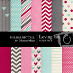 Loving You Paper Pack-$3.49 (Melissa Nuttall)