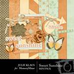 Sweet Sunshine Mini Pack-$2.00 (Julie Klaus)