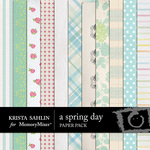 A Spring Day Paper Pack-$3.49 (Krista Sahlin)
