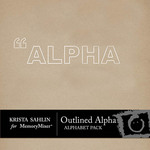 Outlined alpha small