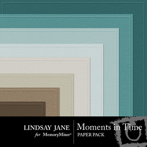 Moments in time embossed pp medium