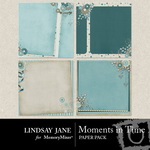 Moments in Time Deco Paper Pack-$1.99 (Lindsay Jane)