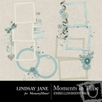 Moments in Time Frame Pack-$0.99 (Lindsay Jane)