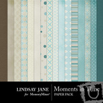 Moments in Time Paper Pack-$3.49 (Lindsay Jane)
