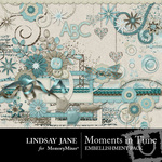 Moments in Time Embellishment Pack-$1.75 (Lindsay Jane)