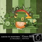 Green Bliss Mini Pack-$2.00 (Albums to Remember)