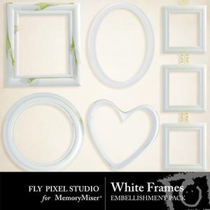 White frames emb medium