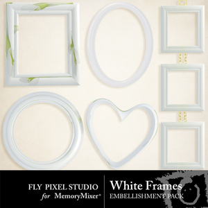 White frames emb medium